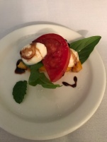 This take on a Caprese salad was the Chef's Taste tonight