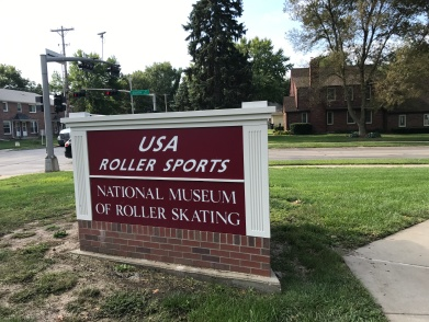 At the Roller Skating Museum