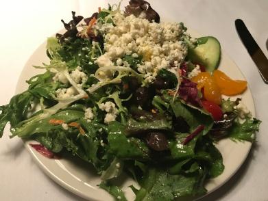 Nice dinner salad