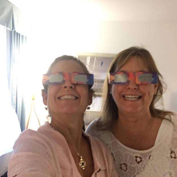 J and J eclipse glasses