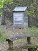 No outhouse trips for us!