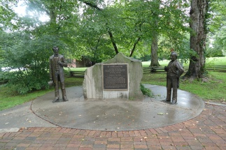 Site of one of the Lincoln-Douglas debates
