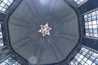 Looking up in the dome