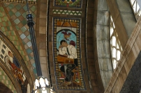 Another mosaic in the hall