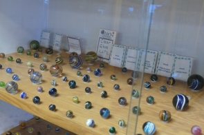 One of many marble displays