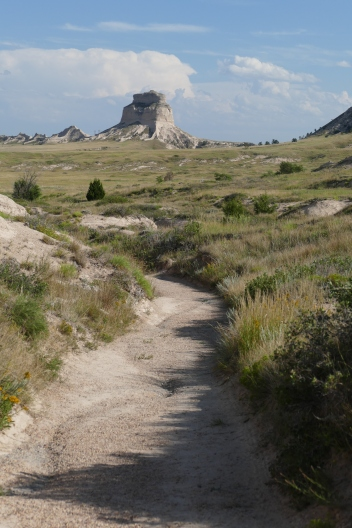 You can still see wagon ruts on this trail