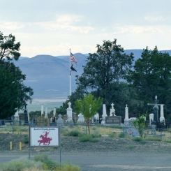 and the cemetary