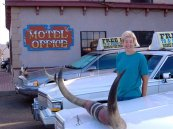 At the Big Texan, Amarillo TX 2006 Route 66
