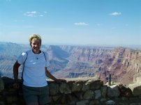At the Desert View Watchtower, Grand Canyon AZ 2006 Route 66