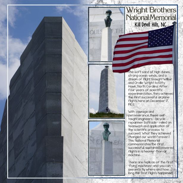 Wright Bros. Memorial, Kill Devil Hills NC 2015