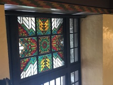 One of the gorgeous windows in the great room