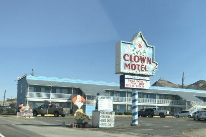 We saw this scary sight in Tonopah!
