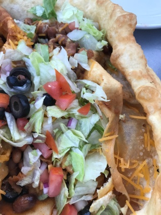We shared a Navajo Fry Bread Taco