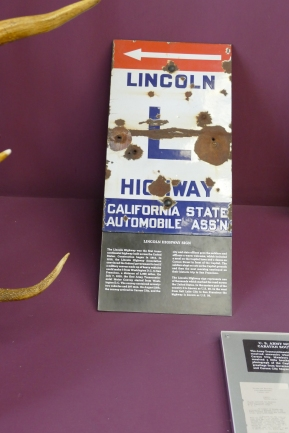 The Lincoln Highway traverses Nevada, now known as The Loneliest Road in America