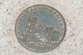 On the Kit Carson trail