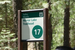 Next stop: Mirror Lake