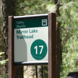 Next stop: Mirror Lake